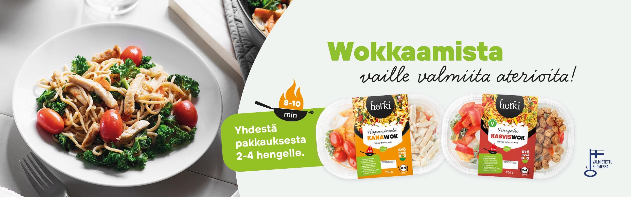 Wok-ateriat